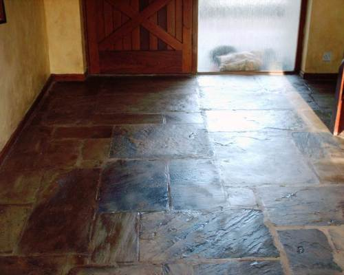 Sandstone floor in leyland After