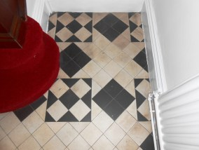 Victorian Tile Cleaning Before