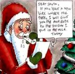 Funny Christmas Extortion