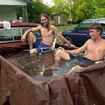 Redneck swimming pool