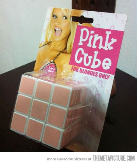 Rubik's Cube for Blondes