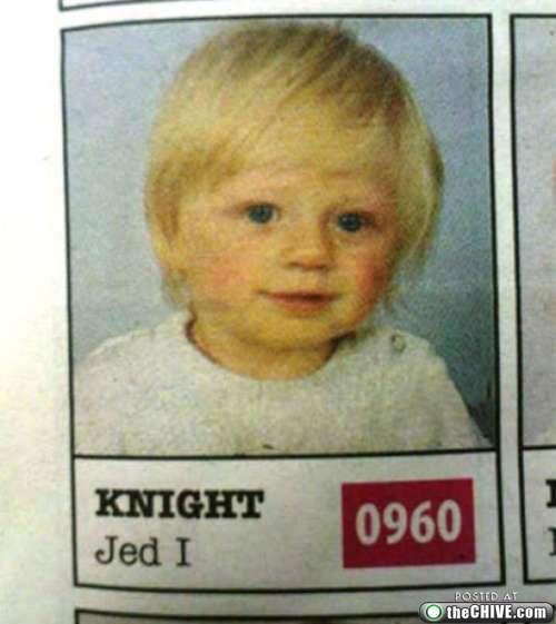 Funny Names - Jed I Knight
