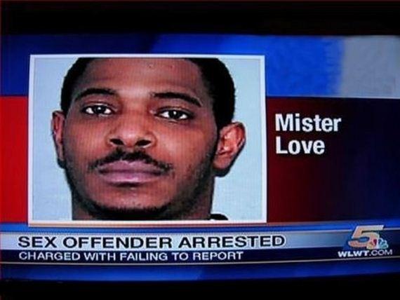 Funny Names - Mister Love