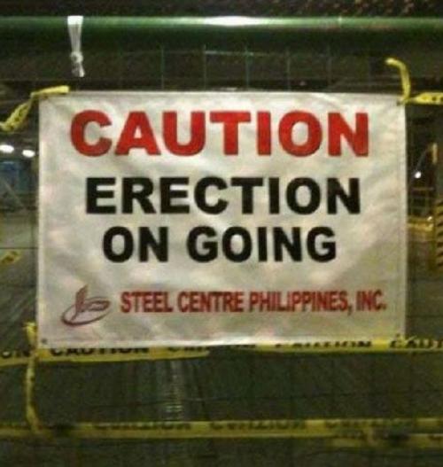 Awkward Construction Site