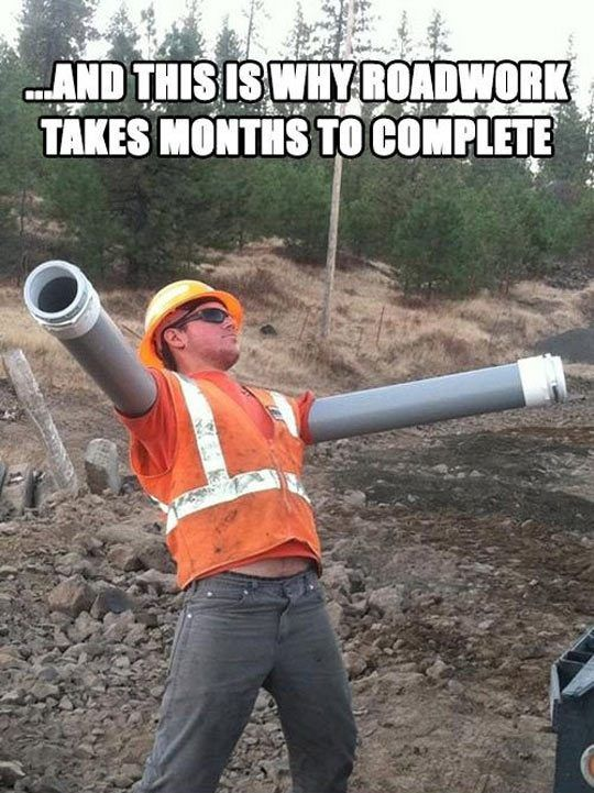 Roadwork Takes Too Long