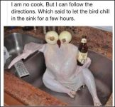 Chill In The Sink turkey image