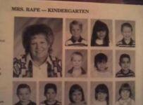 Funny Names Mrs. Rape image