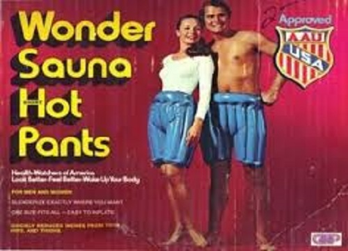 Sauna Pants Fail