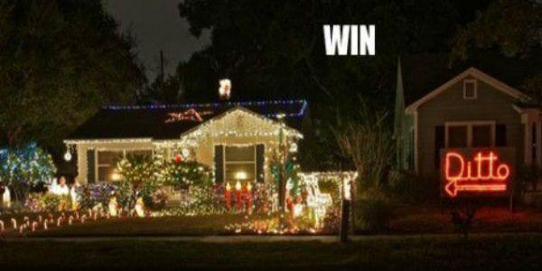 Christmas Win Fail