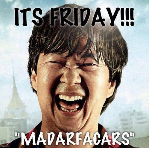 It's Friday Madarfacars funny friday image