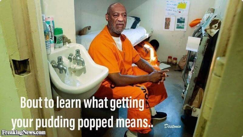 Bill Cosby Pudding Popped image