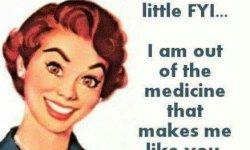 Medicine Out