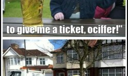 Drunk Baby-Ticket Ociffer