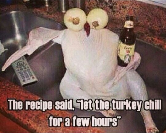 Let The Turkey Chill