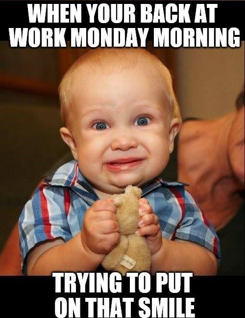 Monday Morning Smile