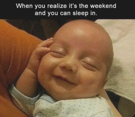 Weekend Sleep