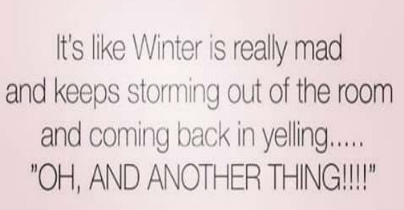 Winter is Mad