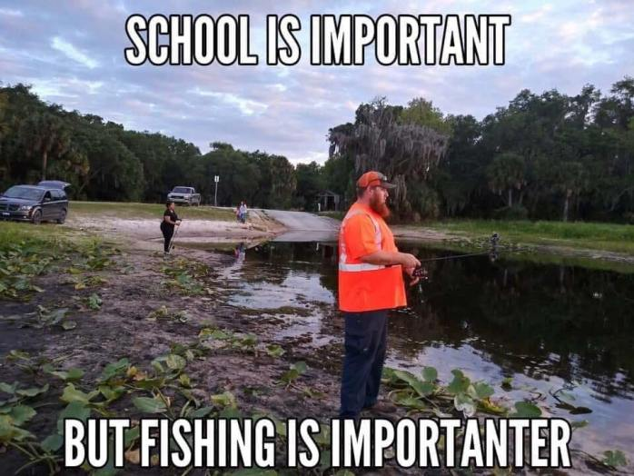 School Important Fishing Importanter