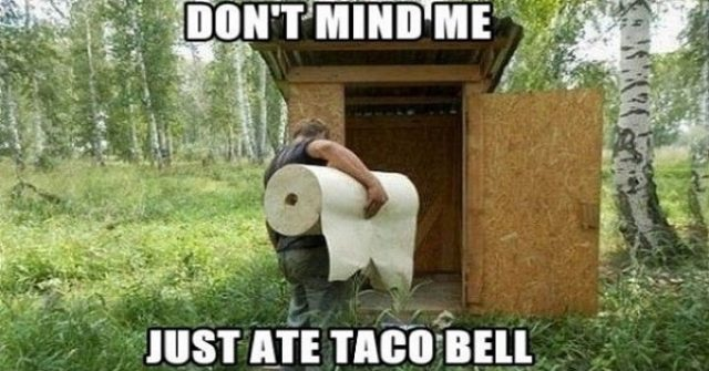 After Taco Bell