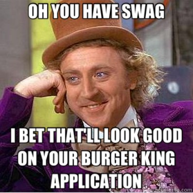 Burger King App Swag