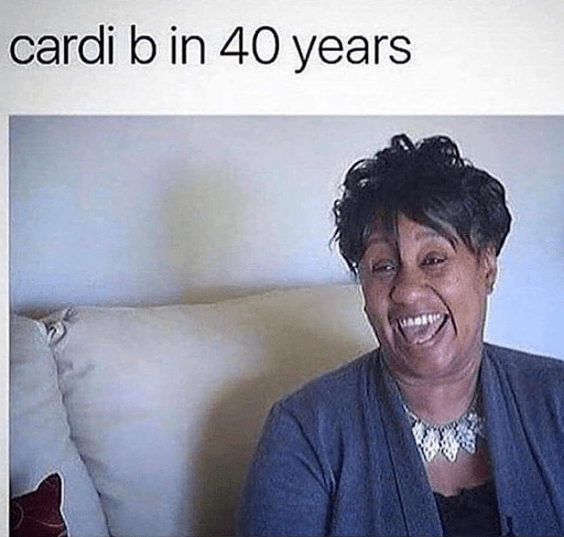 Cardi B in 40 Years