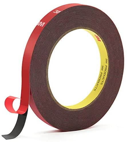 3M Double Sided Tape, HitLights Heavy Duty Mounting Tape VHB Waterproof Foam Tape, 32ft Length, 0.39Inch Width for LED Strip Lights, Home Decor, Office Decor