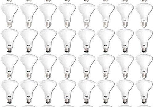 Sunco Lighting 48 Pack BR30 LED Bulb 11W=65W, 3000K Warm White, 850 LM, E26 Base, Dimmable, Indoor/Outdoor Flood Light – UL & Energy Star