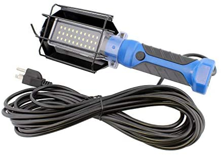 ABN Portable LED Drop Light – 30 SMD + LED Trouble Light with Cord – 120V, 1000 Lumens LED Work Lights for Shop