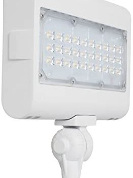 Westgate Lighting LED Flood Light with Knuckle Mount – Security Landscape Lights Fixture for Outdoor Yard Garden – Safety Floodlights – UL Listed 7 Year Warranty (50W 5000K Cool White)