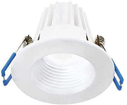 Lightolier 3″ 8W Round 3000K, 90CRI, White Recessed Mini Downlight, Easy to Use and Install, Save Time and Energy, Reduced Glare