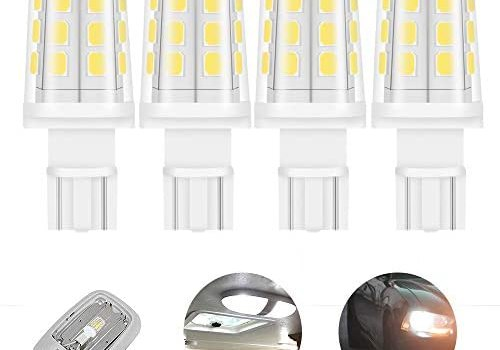 921 912 T5 T10 wedge 3W 380lm 12 Volt LED light bulb for RV camper motorhome Boat Marine Yacht interior light bulbs 35-40W replacement warmwhite 3000K 4-Pack