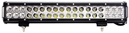 LED Light Bar, Northpole Light 17″ 108W Waterproof Cree Spot-Flood Combo LED Light Bar, LED Off Road Lights, Driving Fog Light with Mounting Bracket for Off Road, Truck, Car, ATV, SUV, Jeep