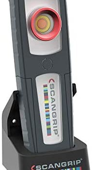 Scangrip Sunmatch 3 – Handheld Rechargeable Work Light with Excellent Color Rendering Properties for Perfect Color Match