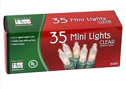 35-Count Clear Christmas Light Set (2-pack) (2)