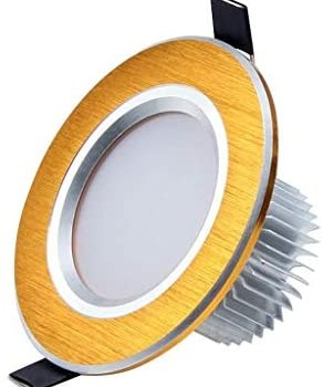 HDZWW LED Downlight 10-Pack Directional Recessed COB Fixture Cut-Out 2.7in(70mm) 3000K-3500K Warm White Ceiling LED Bulb 50W Halogen Bulbs Equivalent (Size : 9w)