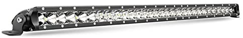 Nilight 31inch 150W Spot & Flood Combo Single Row 14500LM Off Road LED Fog & Driving Roof Bumper Light Bars for Jeep Ford Trucks Boat, 2 Years Warranty