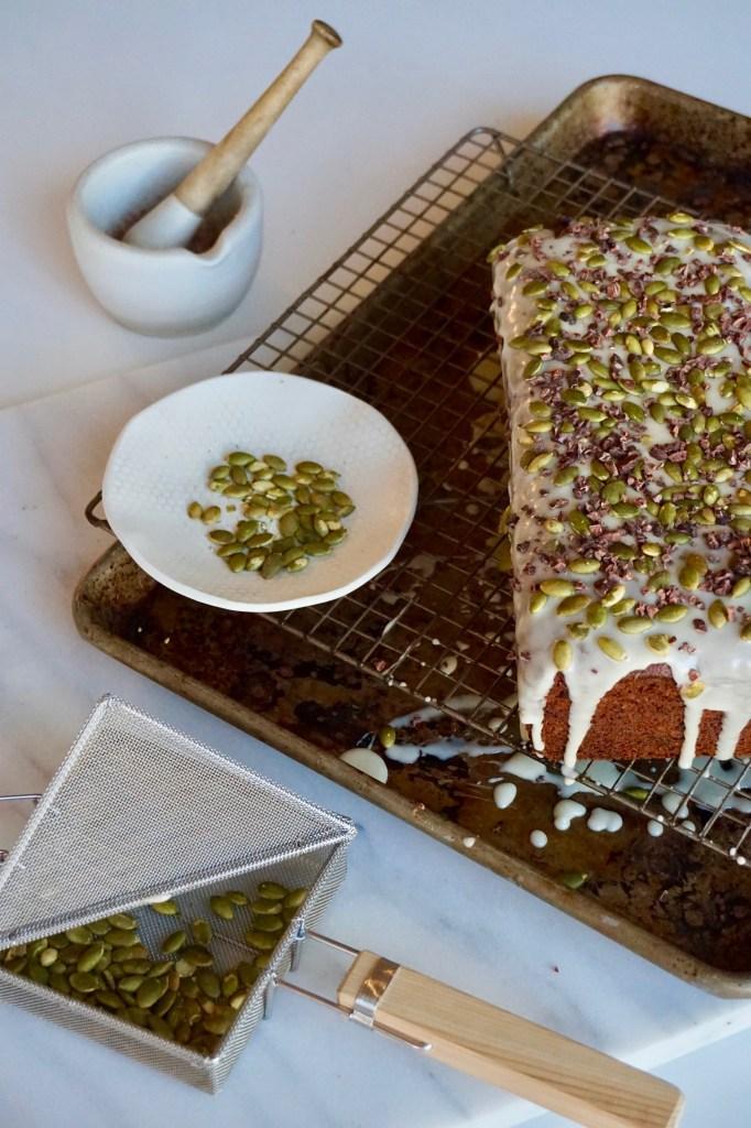 Kabocha Pumpkin Olive Oil Cake