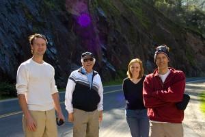 The Gang - Erik, Bruce, Heather, Tom