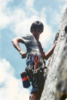 Whoa! Someone should marry that hot young climber...oh wait, I did.