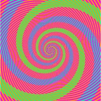 Optical Illusion from Kitaoka