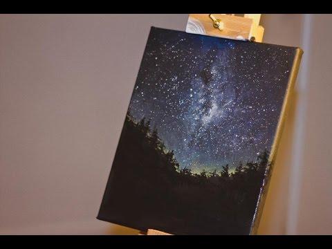 Video : Night Sky Speed Painting