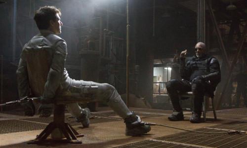 Tom Cruise Morgan Freeman Oblivion Movie 2