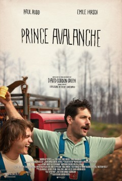 Paul Rudd Emile Hirsch Prince Avalanche Movie Poster