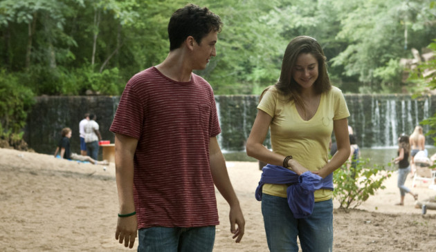 The Spectacular Now Movie Still 1 Miles Teller & Shailene Woodley