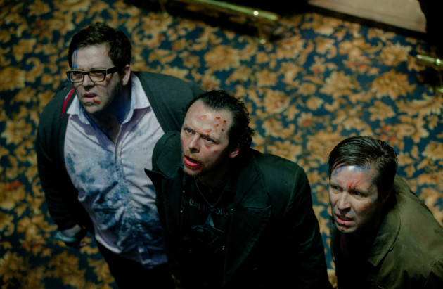 The World's End Movie Still 2 Nick Frost & Simon Pegg