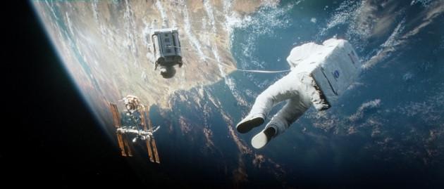 Gravity Movie Still 2 - Sandra Bullock