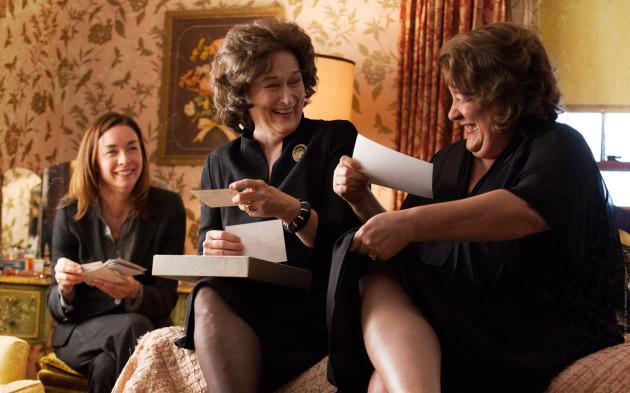 August Osage County Movie Still 2 - Meryl Streep & Margo Martindale