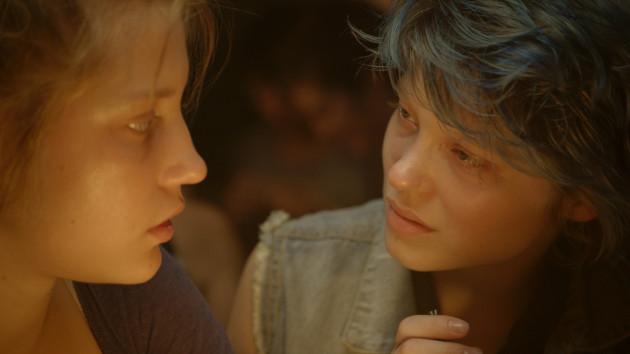 Blue Is The Warmest Color Movie Still 1 - Léa Seydoux & Adèle Exarchopoulos