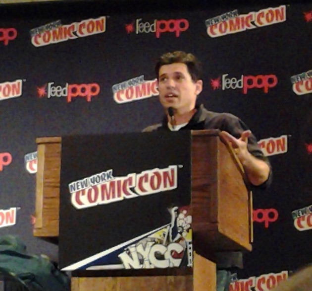 Max Brooks NYCC Image