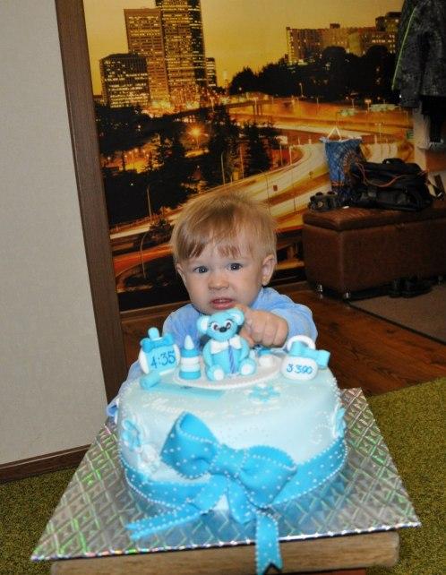 день рождение годик торт для мальчика